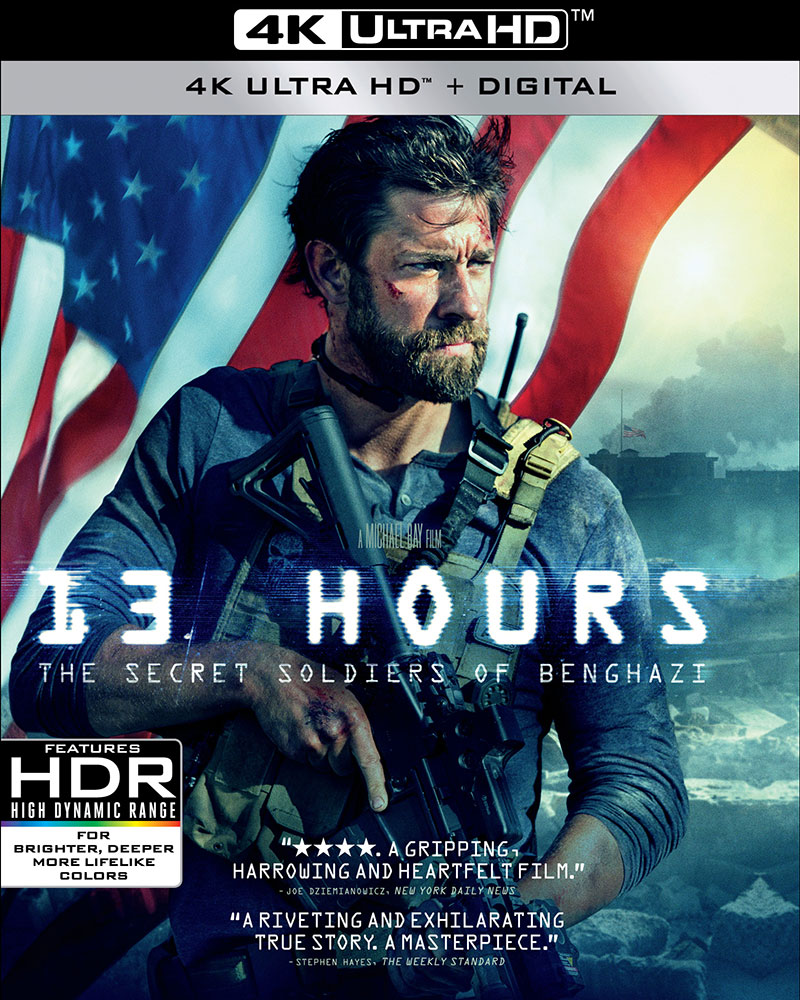 13 Hours: The Secret Soldiers of Benghazi (Ultra HD 4K Blu-ray)