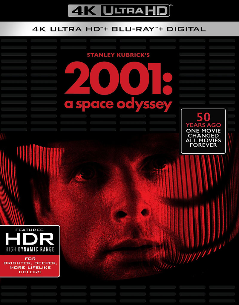 2001: A Space Odyssey (Ultra HD 4K Blu-ray)