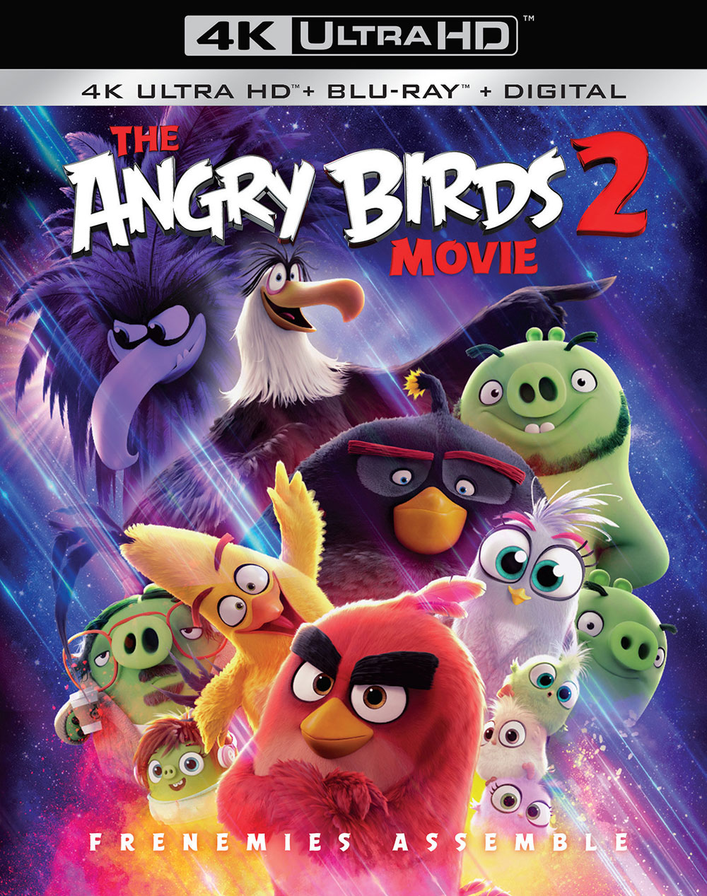 The Angry Birds Movie 2 (Ultra HD 4K Blu-ray)