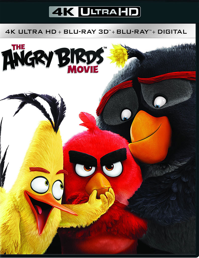 The Angry Birds Movie (Ultra HD 4K Blu-ray)