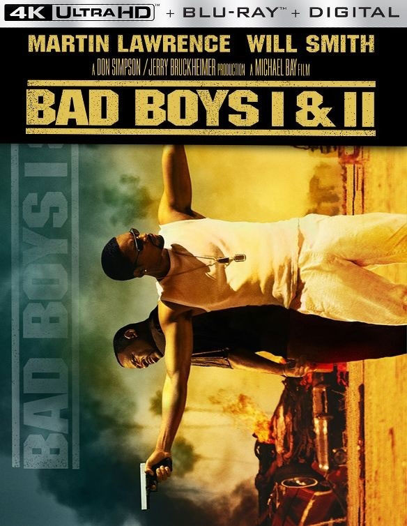 Bad Boys / Bad Boys II (Ultra HD 4K Blu-ray)