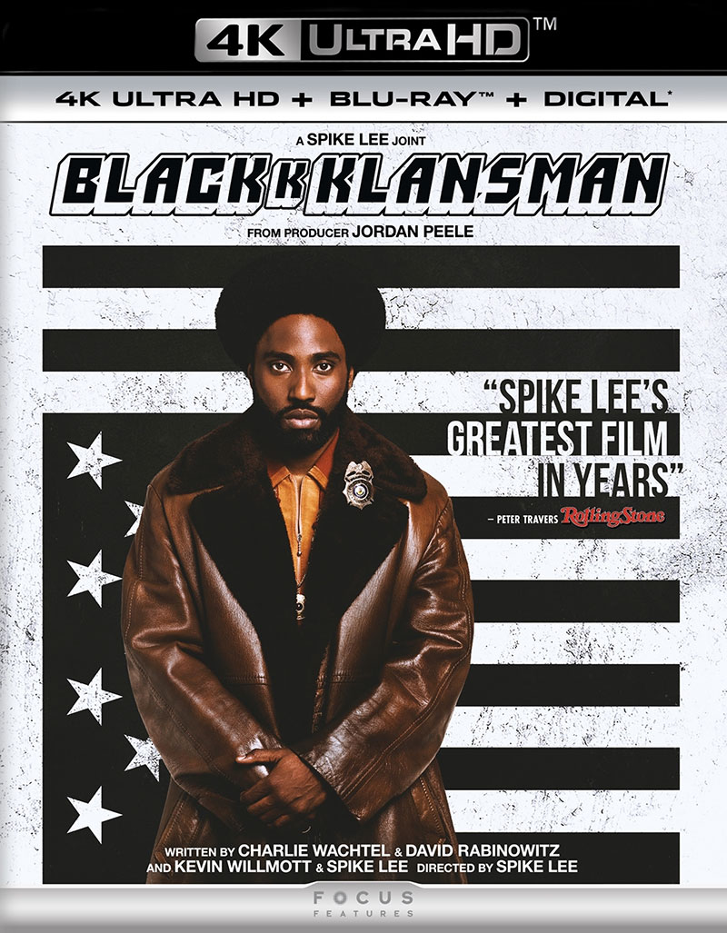 BlacKkKlansman (Ultra HD 4K Blu-ray)
