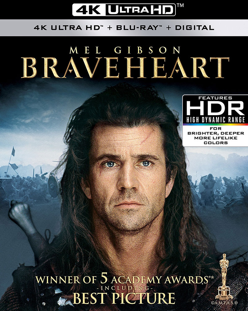 Braveheart (Ultra HD 4K Blu-ray)