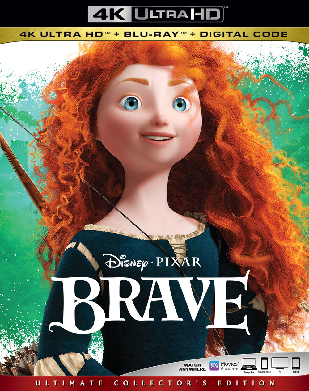 Brave (Ultra HD 4K Blu-ray)