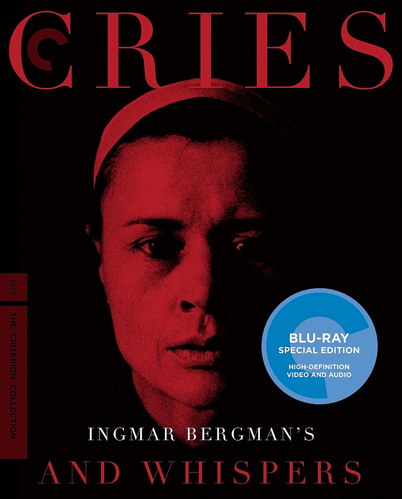cries and whispers criterion collection blu ray blu ray authority cover art