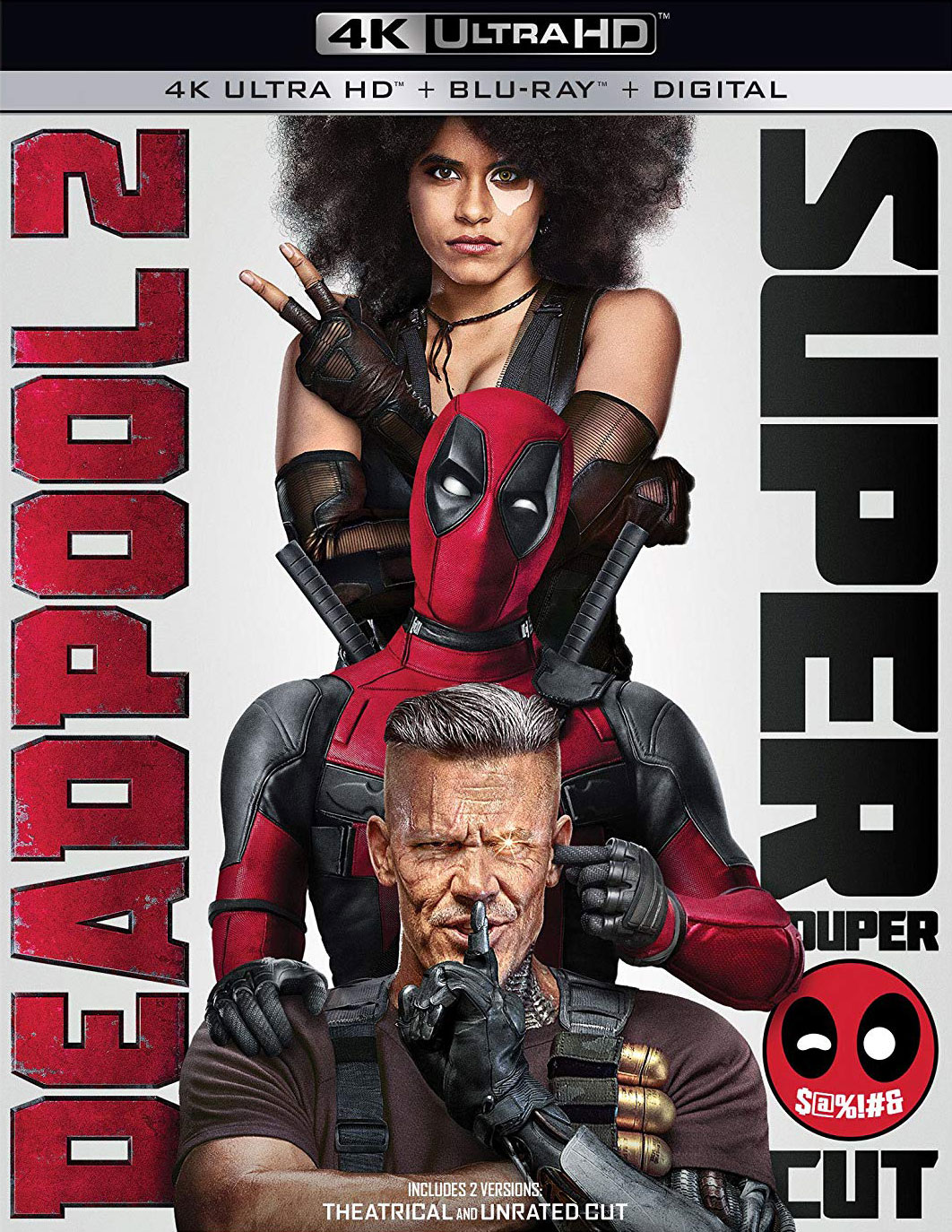 Deadpool 2 (Ultra HD 4K Blu-ray)