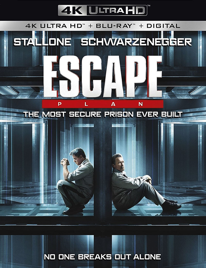 Escape Plan (Ultra HD 4K Blu-ray)