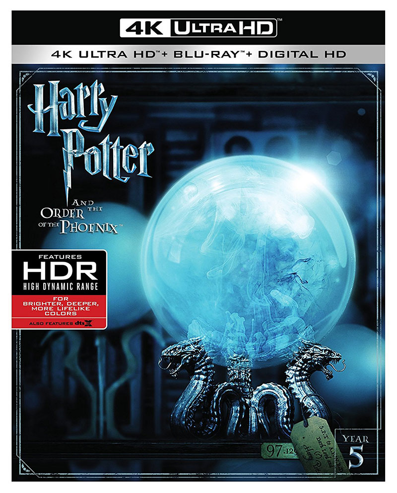 Harry Potter and the Order of the Phoenix (Ultra HD 4K Blu-ray)