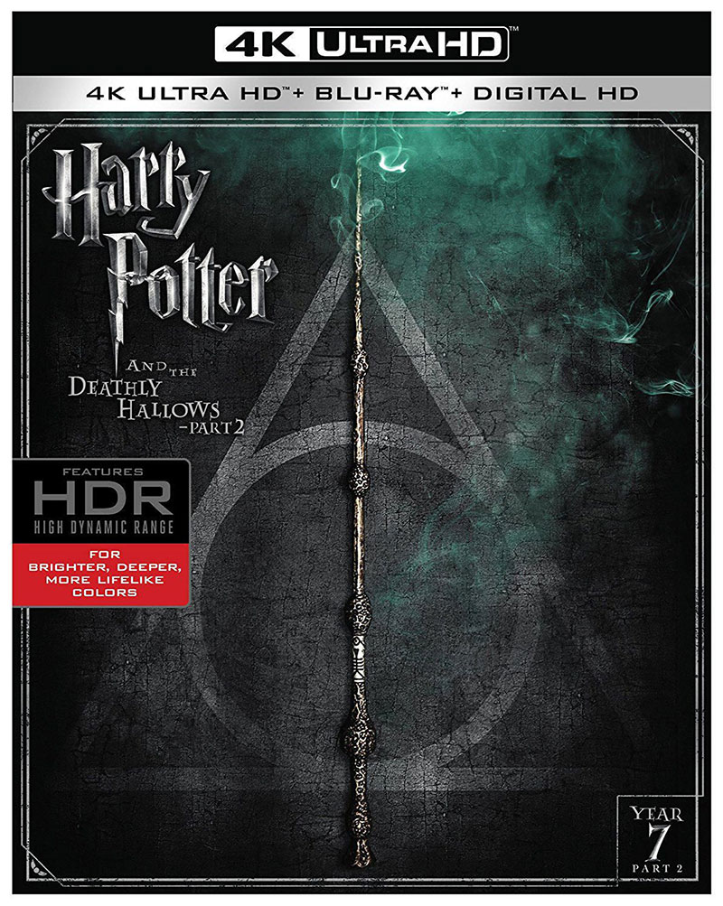 Harry Potter and the Deathly Hallows: Part II (Ultra HD 4K Blu-ray)
