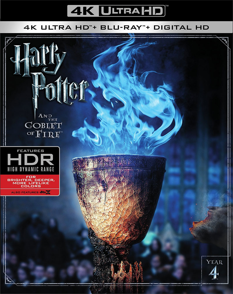 Harry Potter and the Goblet of Fire (Ultra HD 4K Blu-ray)