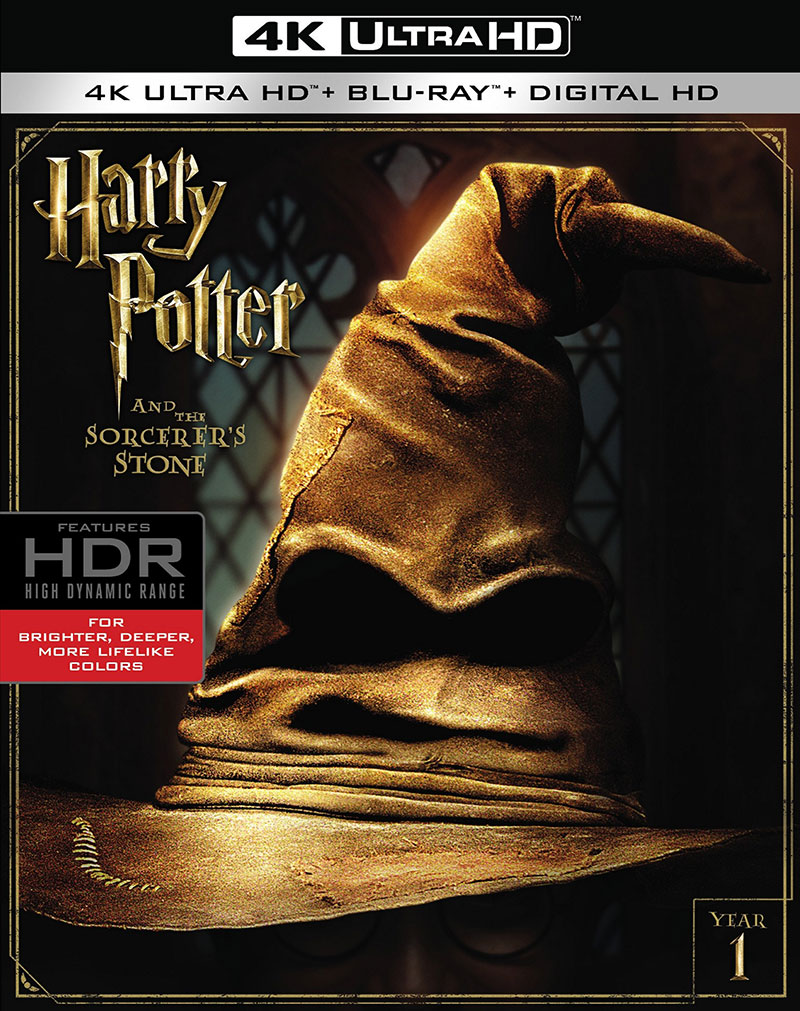 Harry Potter and the Sorcerer's Stone (Ultra HD 4K Blu-ray)