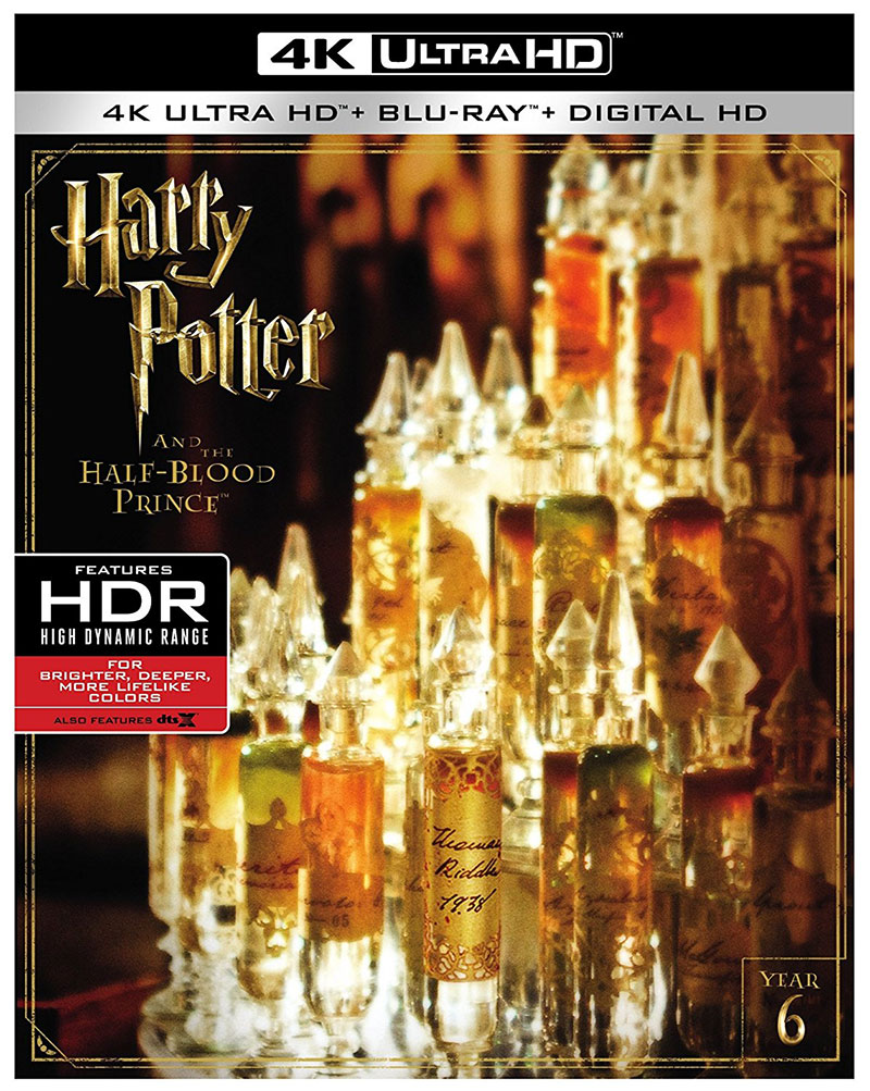 Harry Potter and the Half-Blood Prince (Ultra HD 4K Blu-ray)