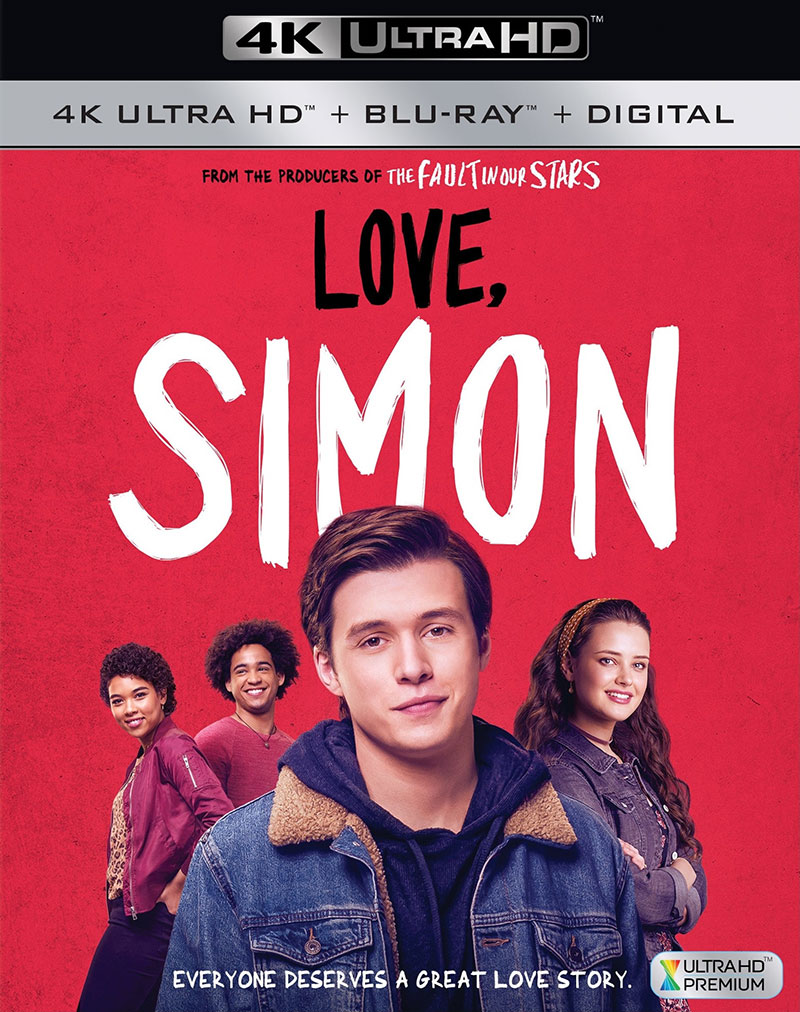Love, Simon (Ultra HD 4K Blu-ray)