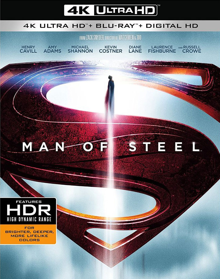 Man of Steel (Ultra HD 4K Blu-ray)