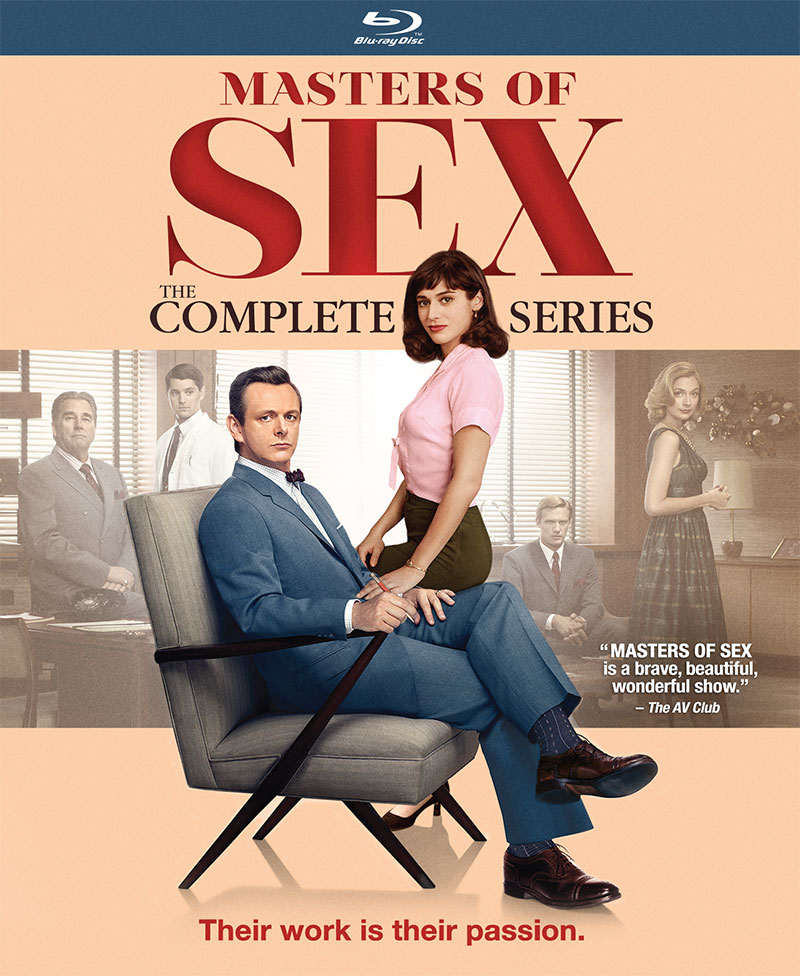 Masters of Sex: The Complete Series (Blu-ray)
