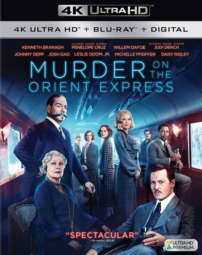 Murder on the Orient Express (Ultra HD 4K Blu-ray)