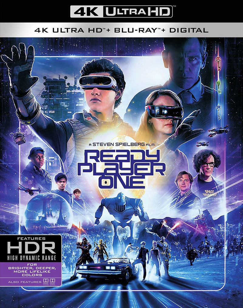 Ready Player One (Ultra HD 4K Blu-ray)
