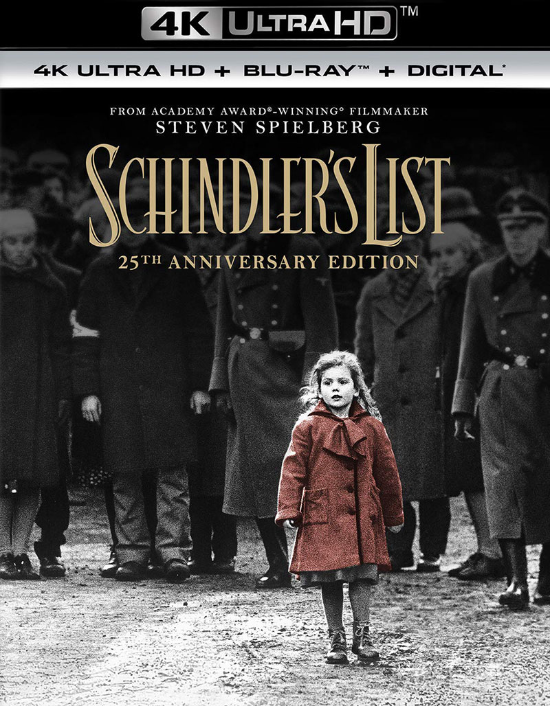 Schindler's List (Ultra HD 4K Blu-ray)