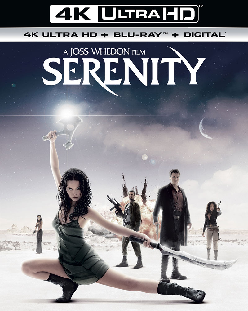 Serenity (Ultra HD 4K Blu-ray)