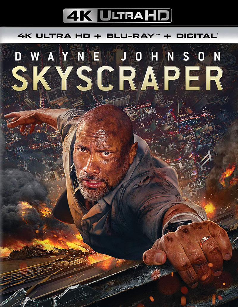 Skyscraper (Ultra HD 4K Blu-ray)