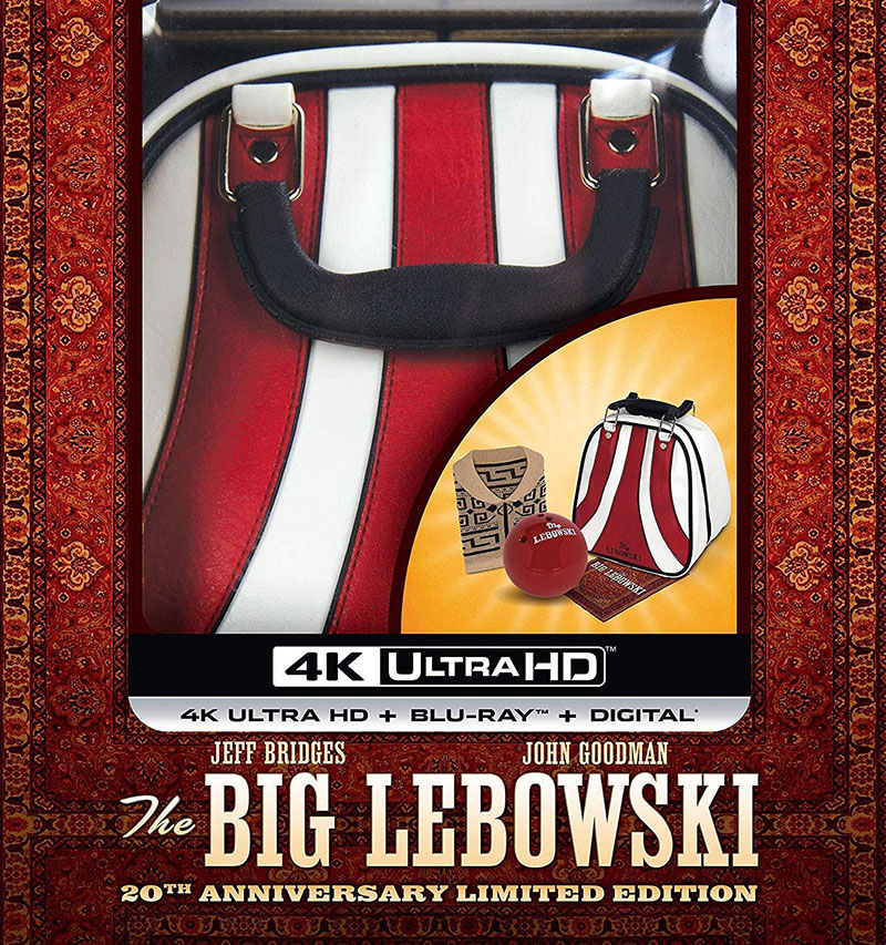 The Big Lebowski: 20th Anniversary Limited Edition Set (Ultra HD 4K Blu-ray)