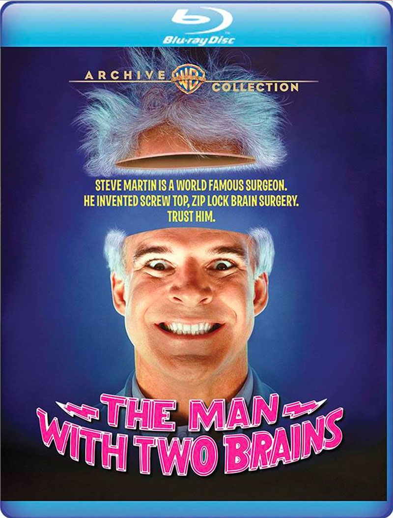 The Man with Two Brains (Blu-ray)