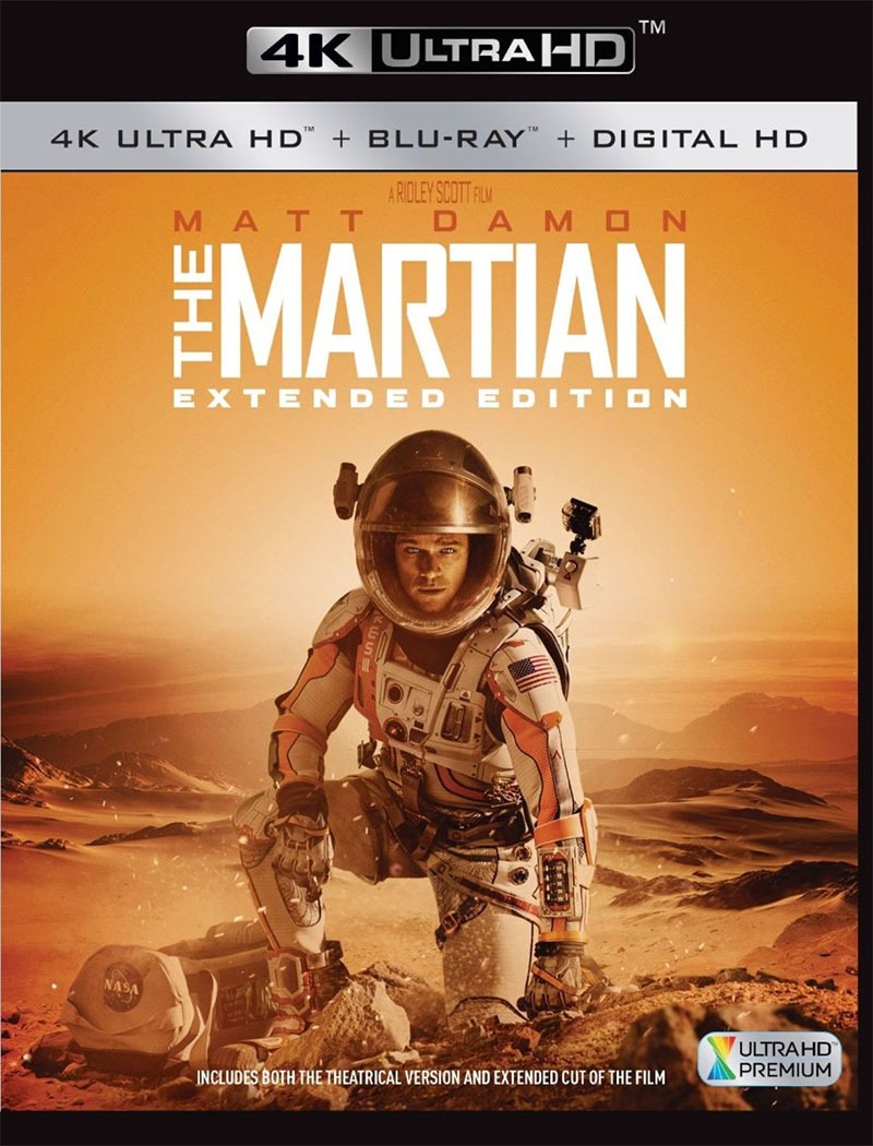 The Martian – Extended Cut (Ultra HD 4K Blu-ray)