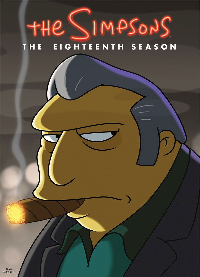 The Simpson's: The Complete Eighteenth Season