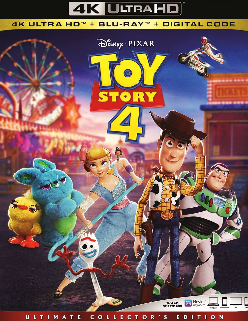 Toy Story 4 (Ultra HD 4K Blu-ray)
