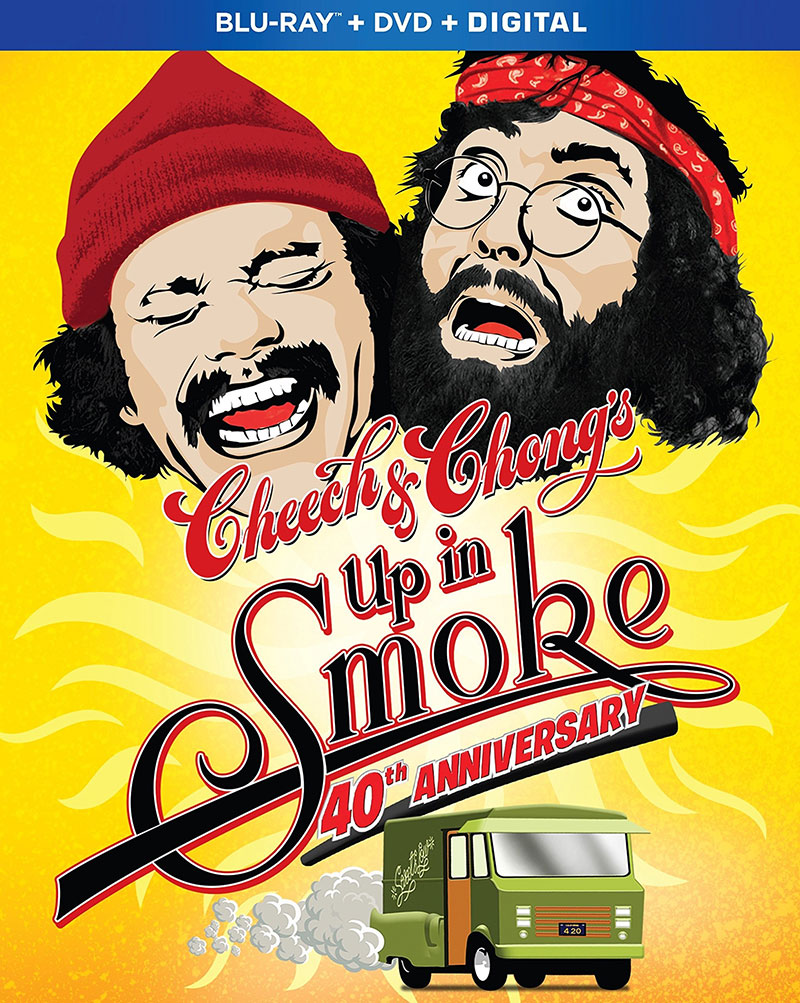 Cheech & Chong's Up in Smoke: 40th Anniversary Edition (Blu-ray)