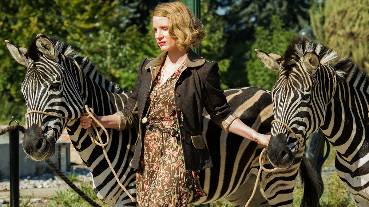 The Zookeeper's Wife (Blu-ray)