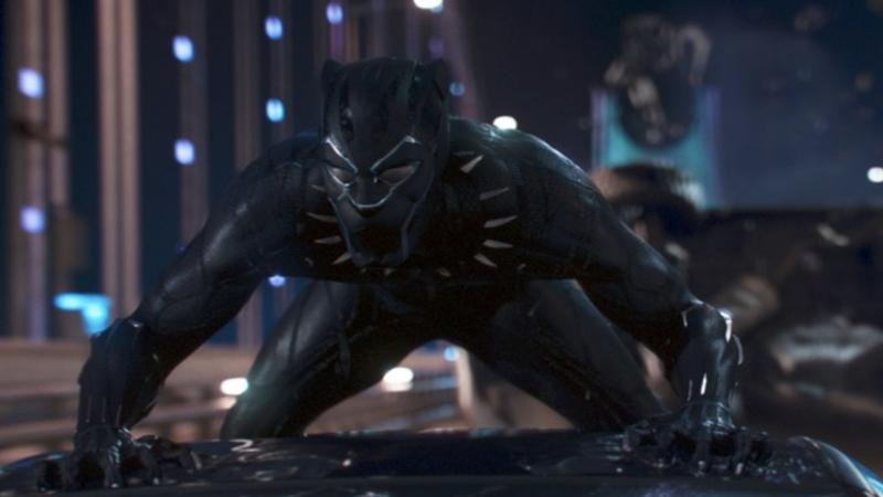 Black Panther (Ultra HD 4K Blu-ray)