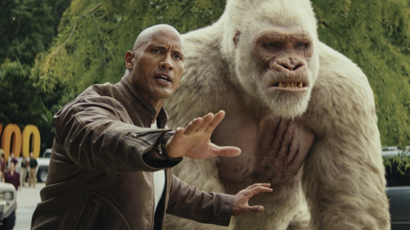 Rampage (Ultra HD 4K Blu-ray)