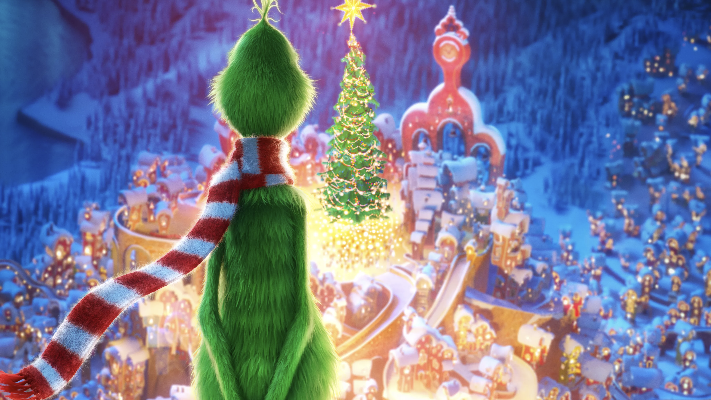 Dr. Seuss' The Grinch (Ultra HD 4K Blu-ray)