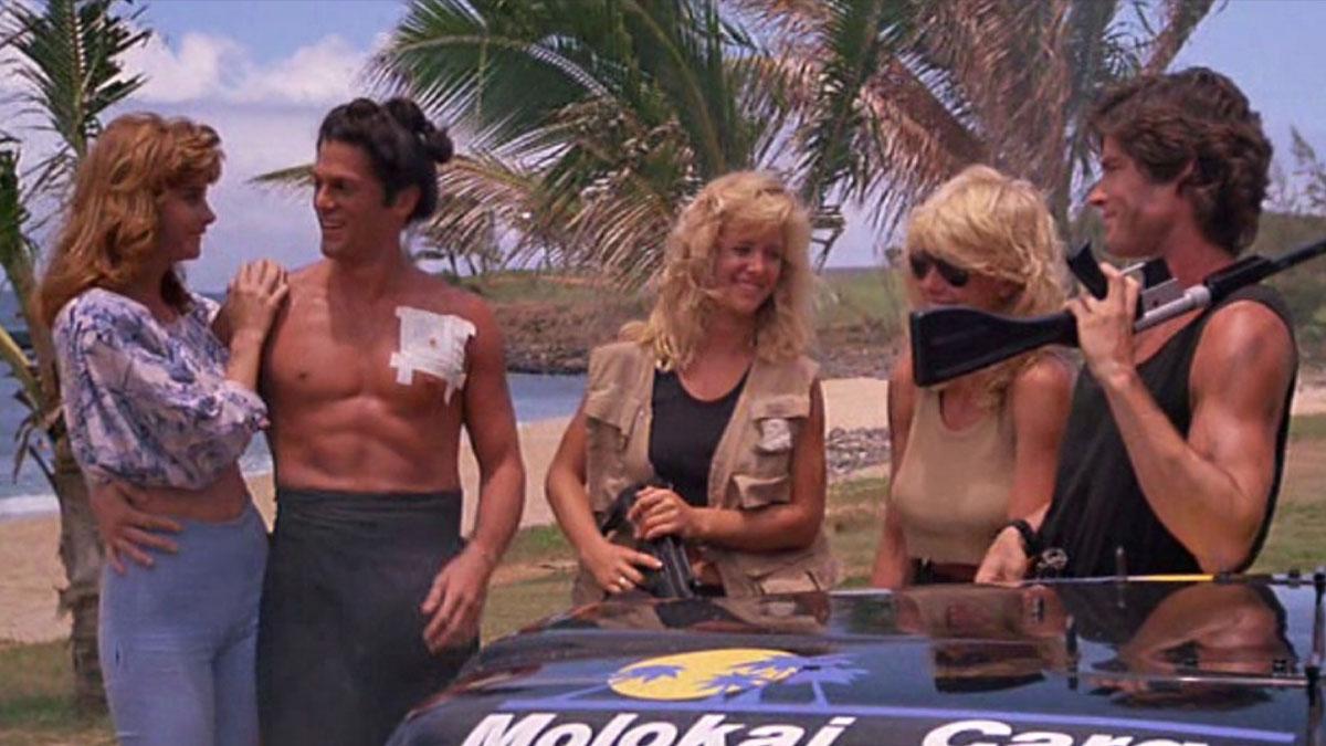 Hard Ticket to Hawaii (Blu-ray)