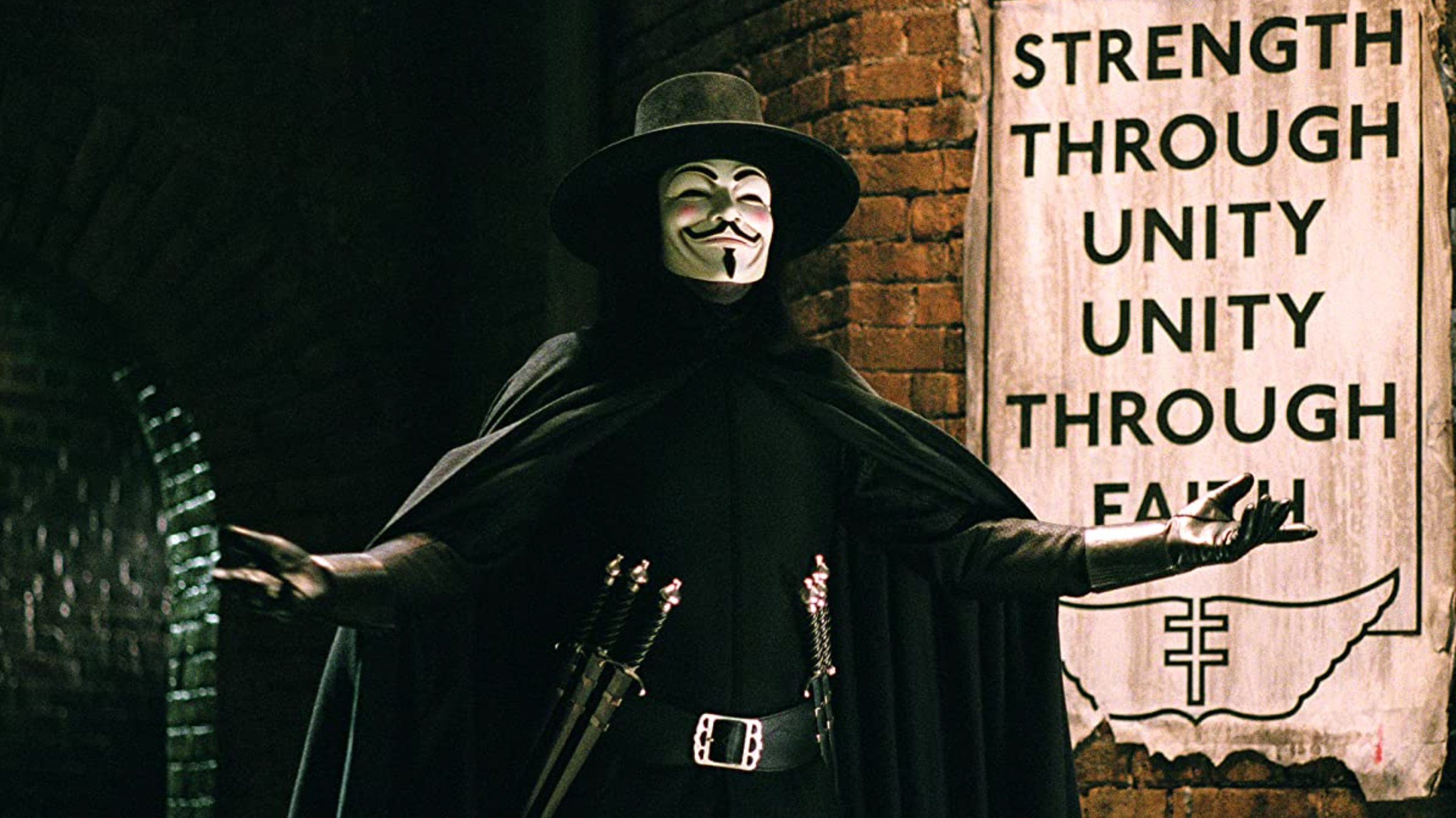 V for Vendetta (Ultra HD 4K Blu-ray)